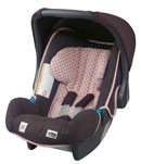 romer baby safe plus chocolate brown
