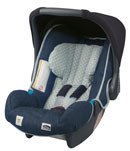 romer baby safe plus indigo denim