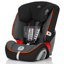 britax romer evolva 1-2-3 plus black marble