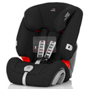 britax romer evolva 1-2-3 plus cosmos black
