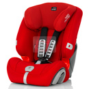 britax romer evolva 1-2-3 plus flame red