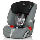britax romer evolva 1-2-3 plus steel grey
