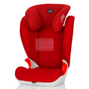 britax-romer kid ii flame red