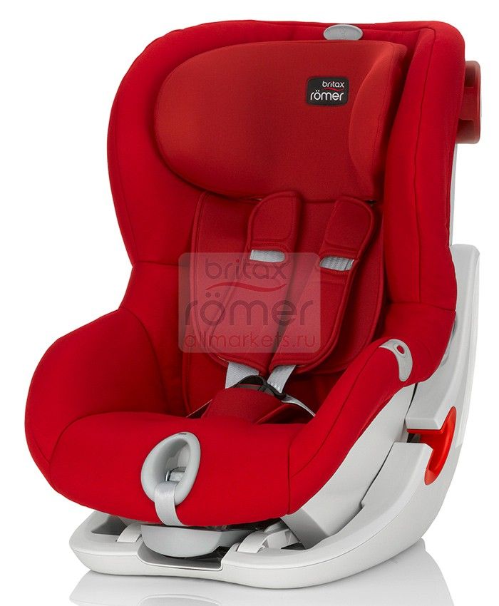 АВТОКРЕСЛО BRITAX ROMER KING II LS FLAME RED