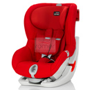 britax romer king ii ls flame red