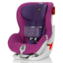britax romer king ii ls mineral purple