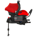 britax romer primo + base isofix flame red
