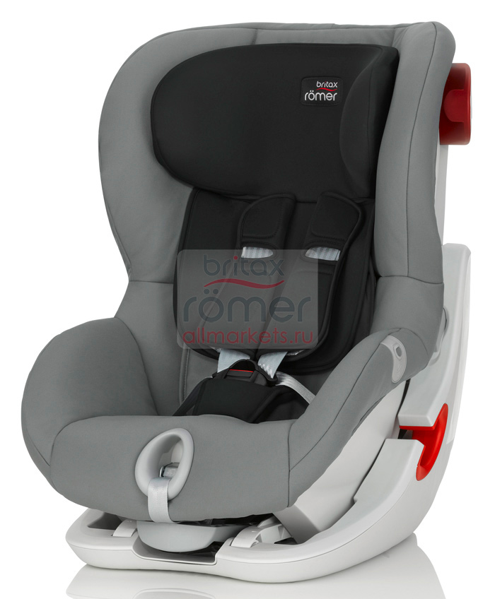 АВТОКРЕСЛО BRITAX ROMER KING II STEEL GREY