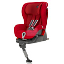 britax romer safefix plus flame red