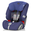 britax romer evolva 1-2-3 plus ocean blue