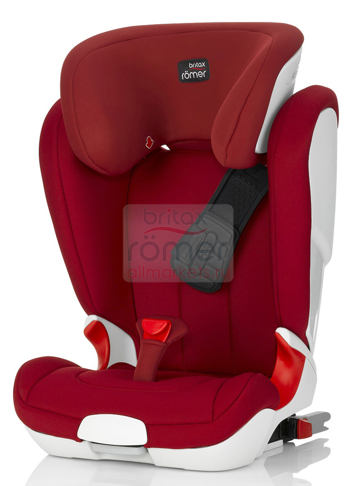 АВТОКРЕСЛО BRITAX ROMER KIDFIX ll XP FLAME RED