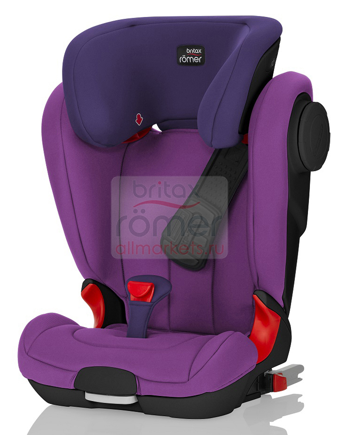 АВТОКРЕСЛО BRITAX ROMER KIDFIX ll XP SICT MINERAL PURPLE, BLACK SERIES