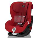 britax romer king ll ls flame red