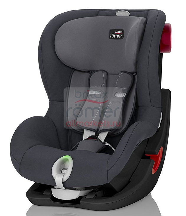 АВТОКРЕСЛО BRITAX ROMER KING II LS STORM GREY, BLACK SERIES